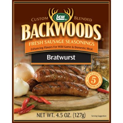 LEM Backwoods Bratwurst Seasoning