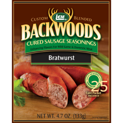 LEM Bratwurst Cured Sausage Seasoning for 25 lbs