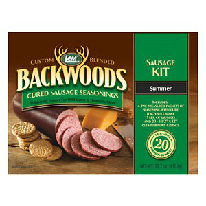 LEM Summer Sausage Kit For 20 lbs.