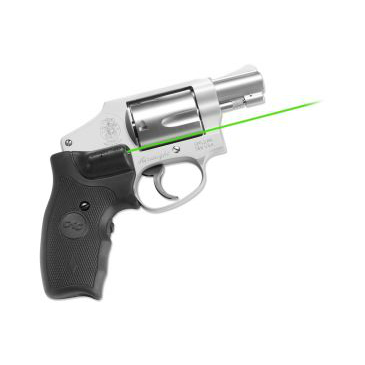 CRIMSON TRACE LASERGRIPS S&W J FRAME - GREEN