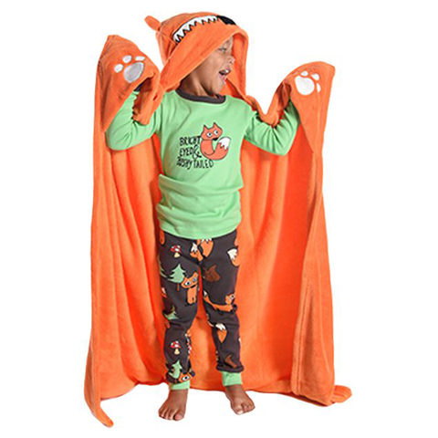 Lazy One Fox Critter Kids Blanket OUT OF STOCK