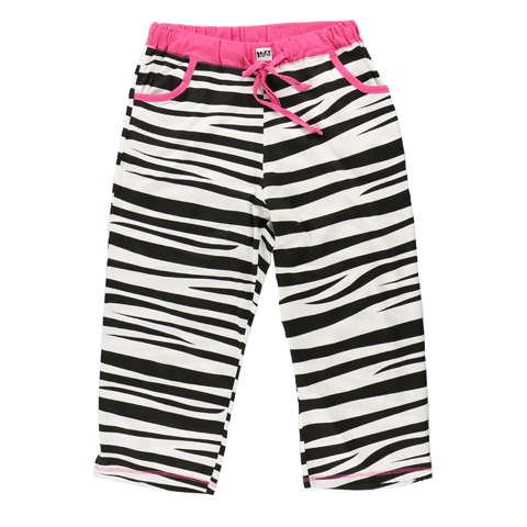 Lazy One Catching Zzzs (Zebra) Capri Pant