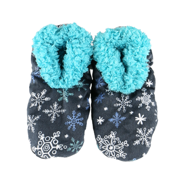 Lazy One Falling To Sleep Adult Fuzzy Feet Slippers