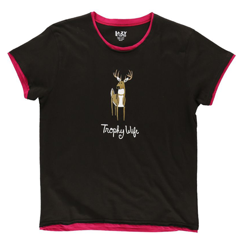 Lazy One Trophy Wife Womens Tee