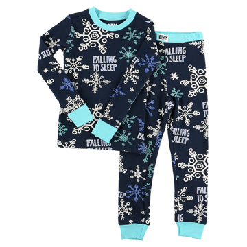Lazy One Falling to Sleep Kid PJ Set
