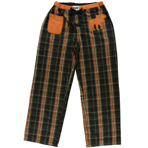 Lazy One Flannel Moose Mens PJ Pant