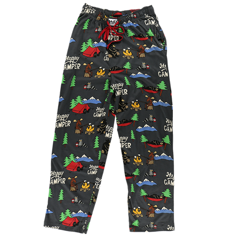 Lazy One Happy Camper Unisex PJ Pants
