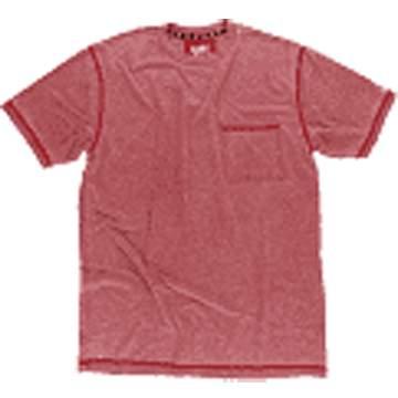 Lazy One Red Mens Short Sleeve T-Shirt
