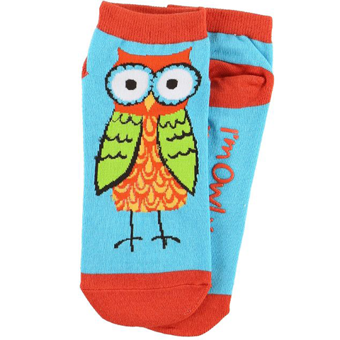 Lazy One Owl Yours Womens Slipper Socks