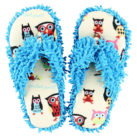 Lazy One Womens Owl Yours Spa Slippers