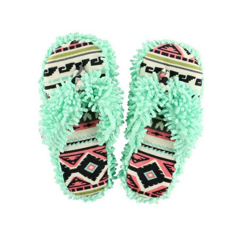 Lazy One Womens Southwest Spa Slipper