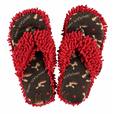 Lazy One Chocolate Moose Spa Slippers