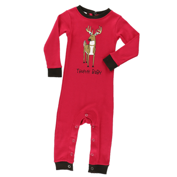 Lazy One Girl Trophy Baby Union Suit