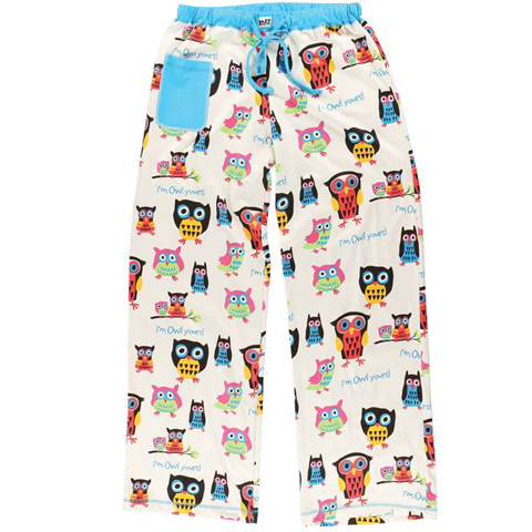 Lazy One Owl Yours Fitted Womens PJ Pant