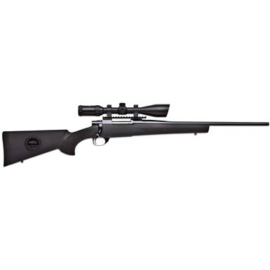LSI Howa Hogue Ranchland .22-250 Rem Nikko 3.5-10x44 Scope