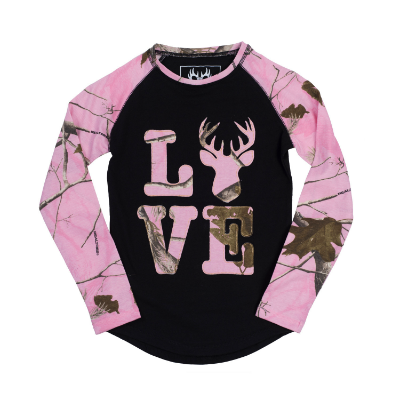 Buck Wear Love Deer Youth Shirt