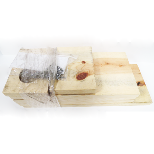 WOODEN WEASEL BOX KIT PLUS TRAP