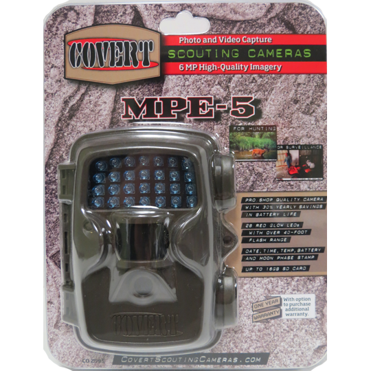 COVERT MPE-5 SCOUTING CAMERA