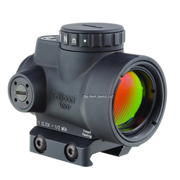 Trijicon 1x25 MRO 2.0 MOA Adjustable Red Dot Low Mount