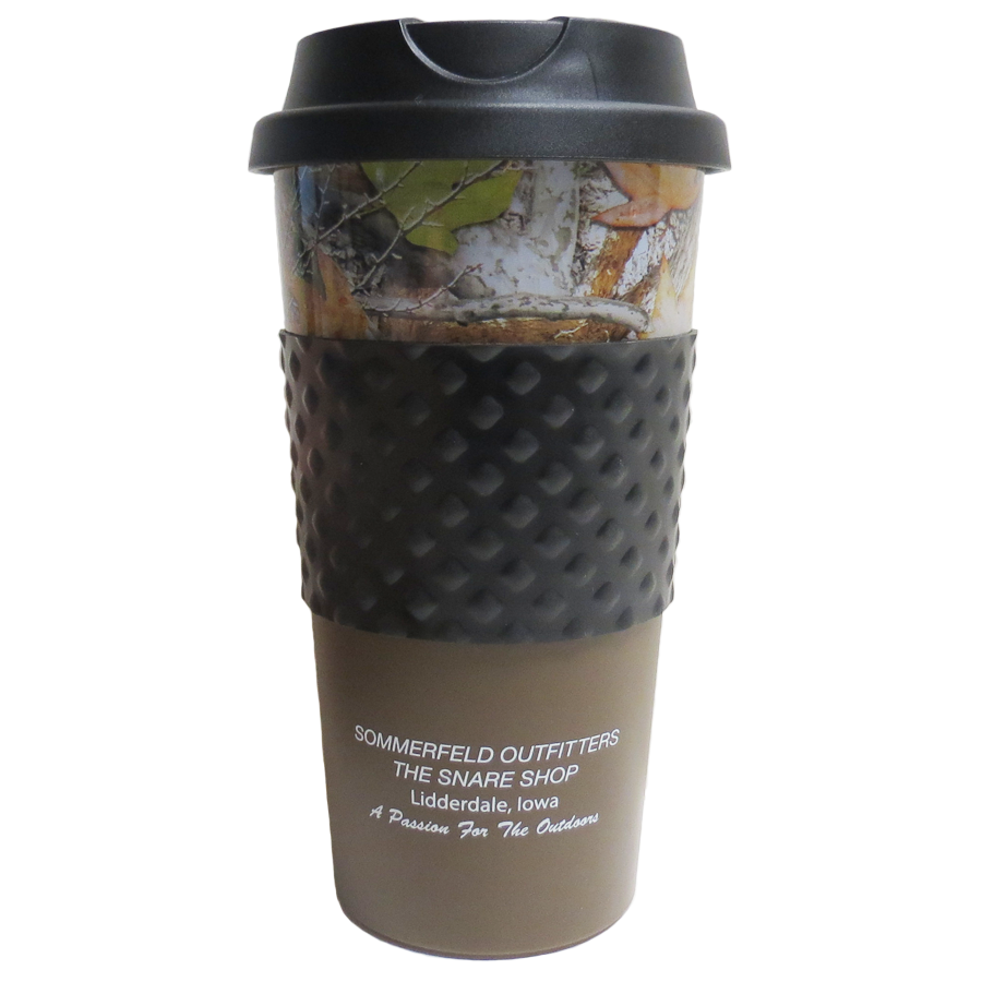 THE SNARE SHOP TRAVEL MUG