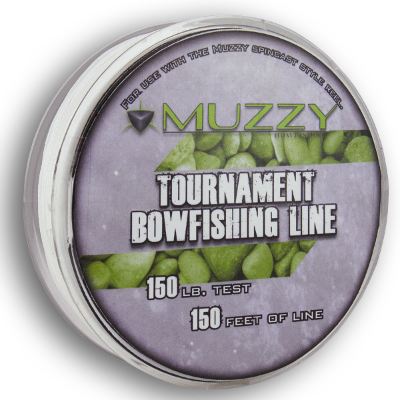 Muzzy Tournament Bowfishing Line 150 Lb. Test - 150 Yards