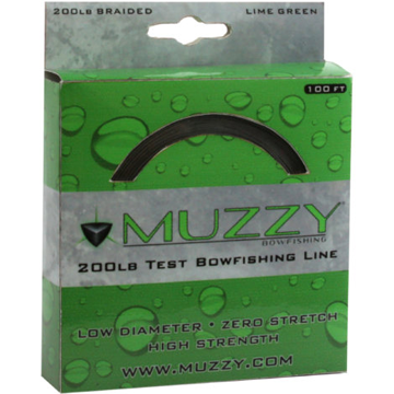Muzzy Lime Green Bowfishing Line 200 lb Test