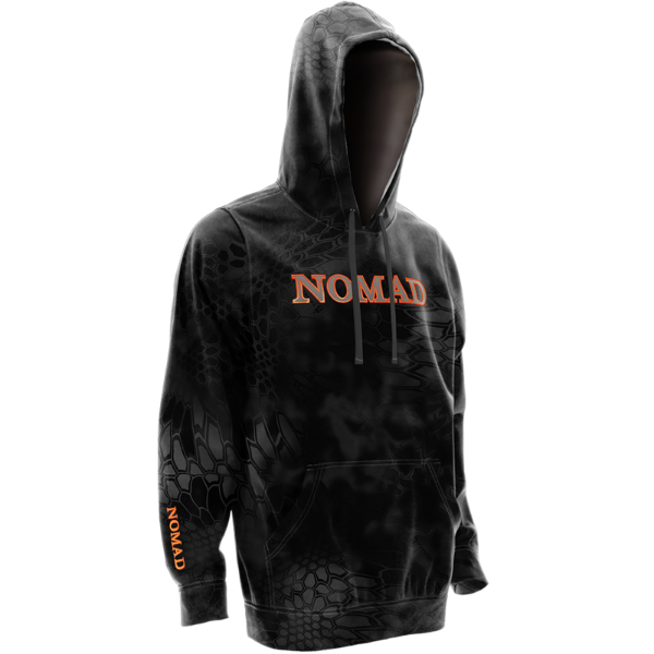 Nomad Camo Logo Hoodie  DISCONTINUED