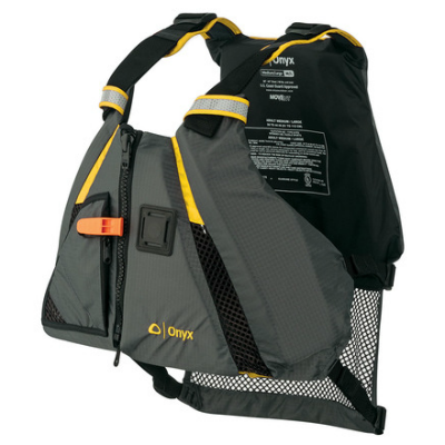 Onyx MoveVent Dynamic Vest - Yellow/Gray