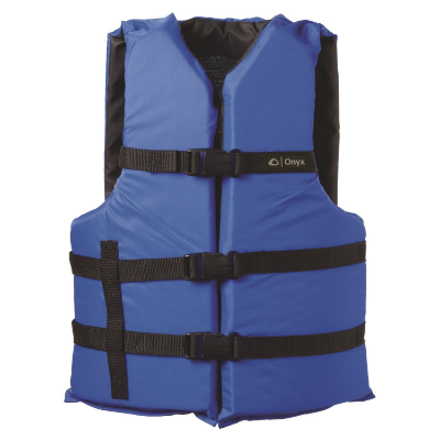 Onyx General Purpose Life Vest Black/Blue