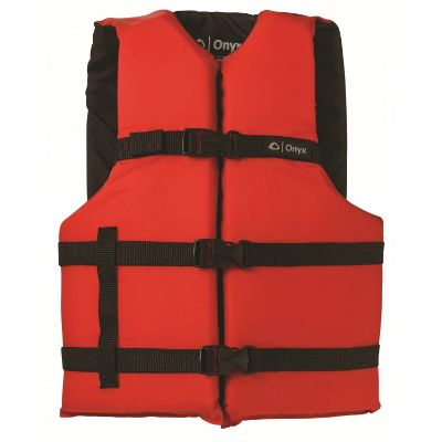 Onyx General Purpose Life Vest Red/Black