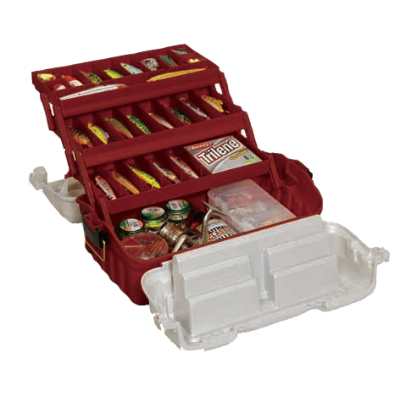 Plano Flipsider Three-Tray Tackle Box