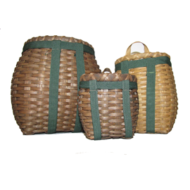 Miniature Trapper's Pack Basket