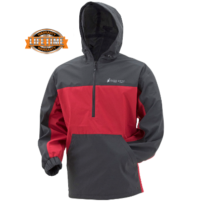 Frogg Toggs Pilot Technical Hoodie Red/Carbon