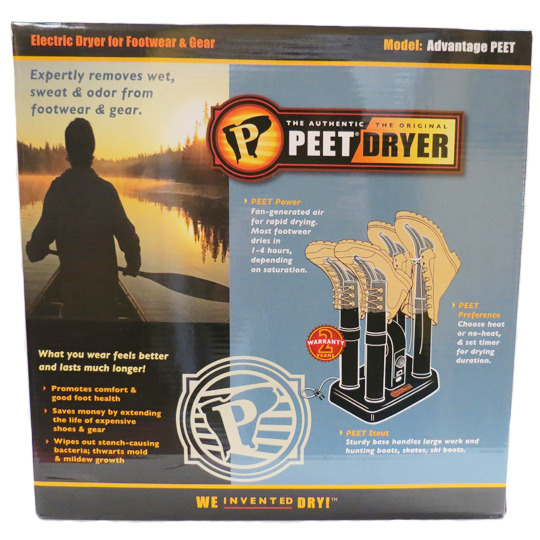 PEET SHOE DRYER - MODEL: ADVANTAGE PEET