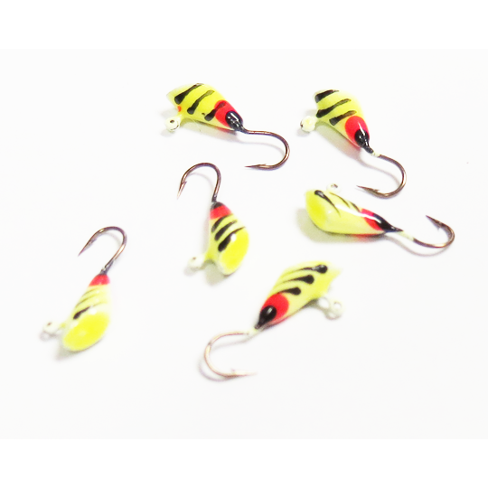 Painted Shad Dart Pack  - Size 10
