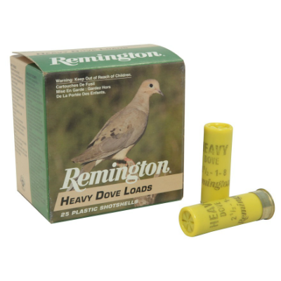 Remington Heavy Dove Loads 20 ga - 2 3/4