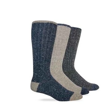 Wise Blend Mens Marl Work Boot Sock