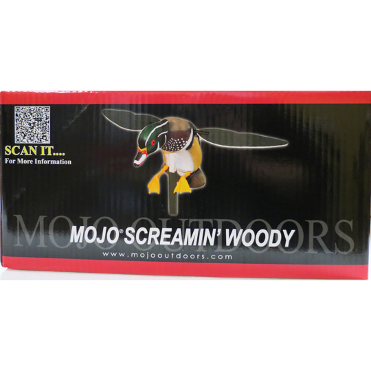 Mojo Screamin' Woody Decoy = OUT OF STOCK