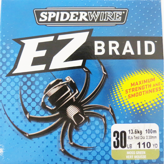 Spiderwire EZ Braid Line - Moss Green