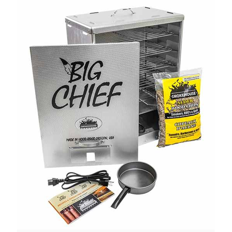 Smokehouse Big Chief Front Load Electric Smoker - OUT OF STOCK