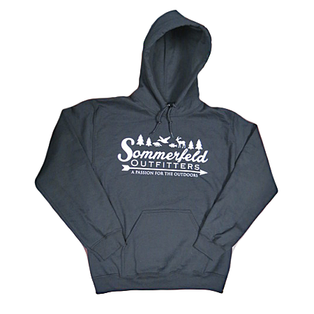 Sommerfeld Outfitters Hooded Sweatshirt - Black
