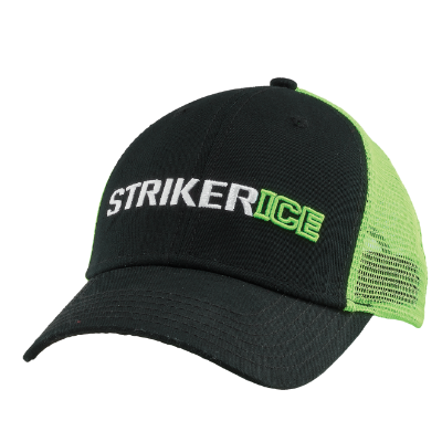 Striker Ice Riot Hat - Green/Black