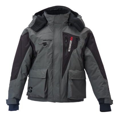 Striker Ice Predator Jacket - Gray/Black