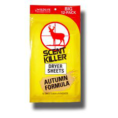 Scent Killer® Autumn Formula Dryer Sheets