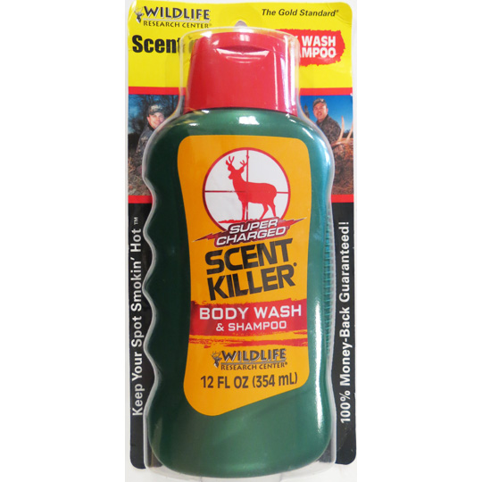 SCENT KILLER® SUPER CHARGED BODY WASH&SHAMPOO*DISCONTINUED*