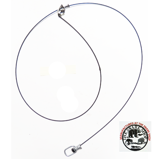 SWIVELED 5' BERKSHIRE SURE-LOCK SNARES - BLACK SNARES