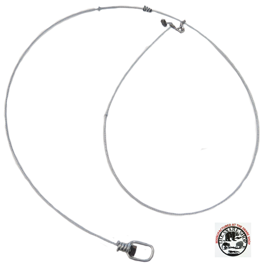 MICRO LOCK SNARE WITH A 350# BAW J-HOOK