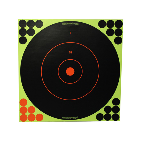 Shoot-N-C® 12 Bull's Eye Target 12 Pack