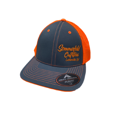 *NEW* Sommerfeld Outfitters Blaze Orange & Gray Hat