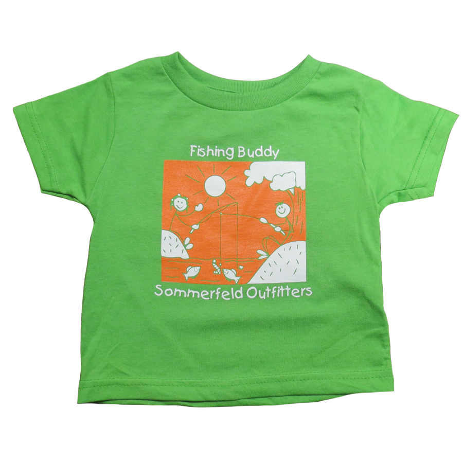 Sommerfeld Outfitters Fishing Buddy Toddler T-Shirt